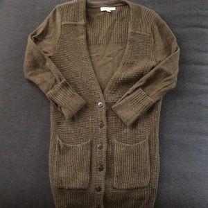 Madewell University cardigan sweater